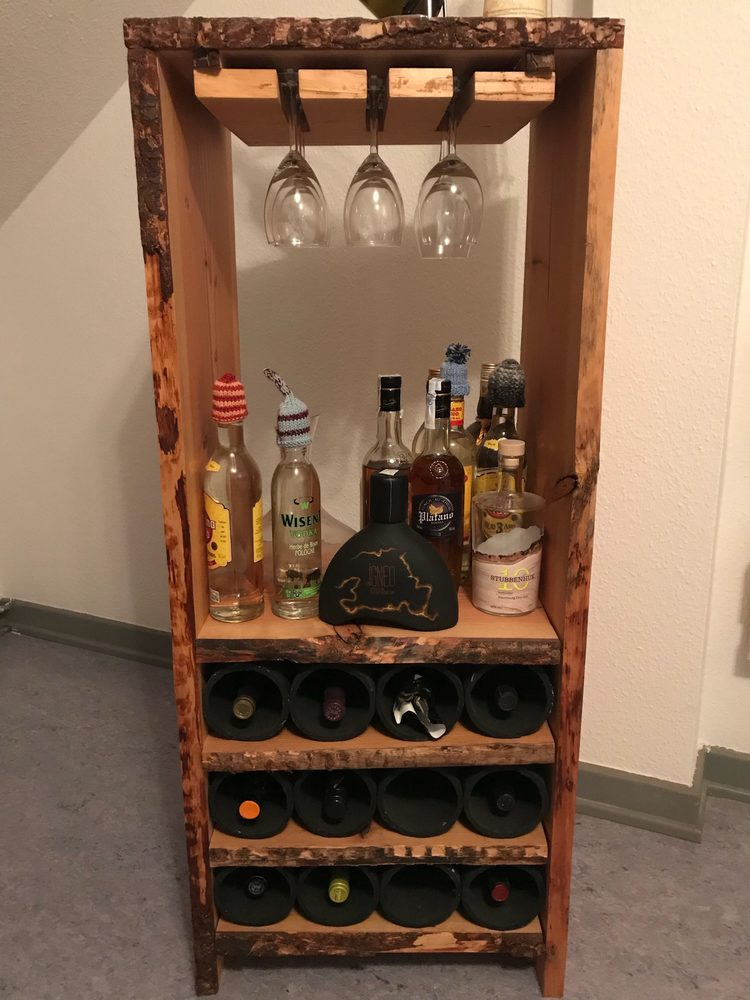 DIY ist Cool - Weinregal